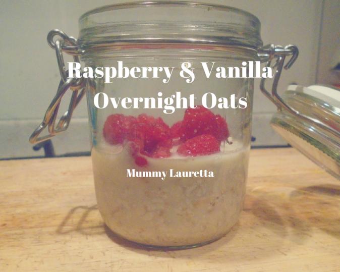 Raspberry & Vanilla Overnight Oats blog