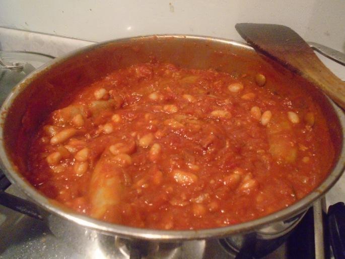 Sausage & Cannellini Bean Casserole