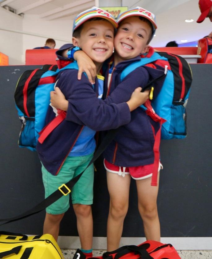 Siblings August