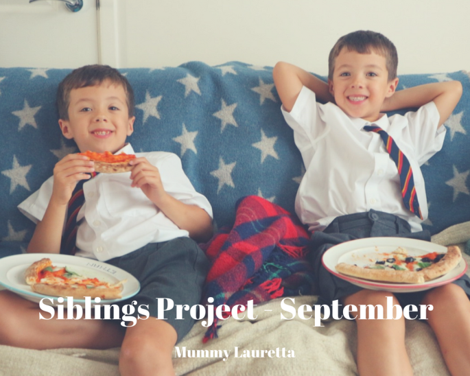 Siblings Project September blog