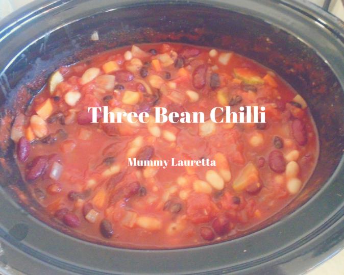 Three Bean Chilli blog